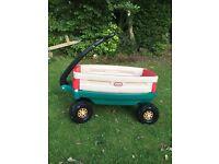 Little tykes wagon / trailer / ride on
