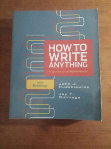 How to Write Anything Second Edition