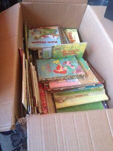 3 boxes of children books