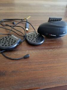 Écouteur UClear pour casque de Vtt, moto etc.