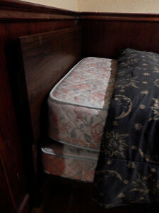 Twin Bed with Matress