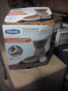 Brand-new adult dog food dispenser