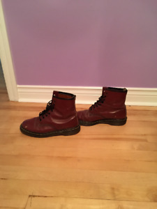 Size 9.5 Red Dr. Martens
