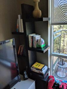 Urban Barn Bookshelf - BLACK - LIKE NEW