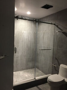 Included Sliding Glass Door, Hardware and Installation