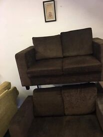 2 x 2 seater sofas free delivery