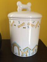 Dog treat cookie jar
