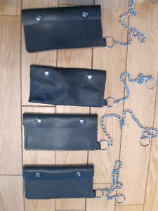 BRAND NEW LEATHER BIKER WALLETS WITH CHAIN
