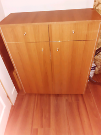 Bed in a chest of drawers