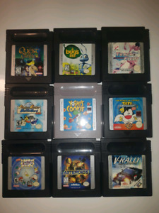 Selling Gameboy Games And Console