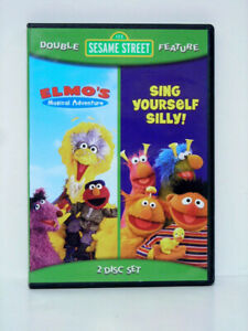 Double  DVD - Elmo's Musical Adventure & Sing Yourself Silly!