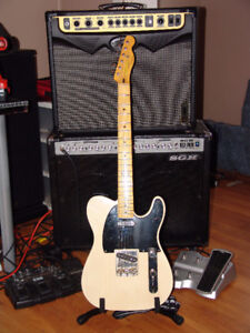 Squier gold label CLASSIC VIBE 50 TELECASTER ( ADULT OWNED )
