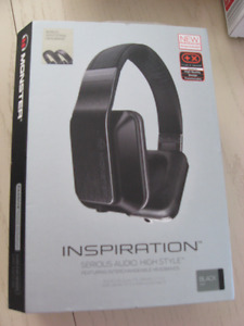 Monster Inspiration Headphones with mic - Hardly Used