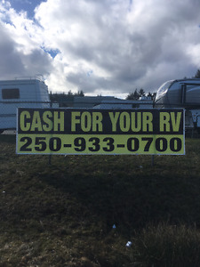 CASH FOR YOUR RV