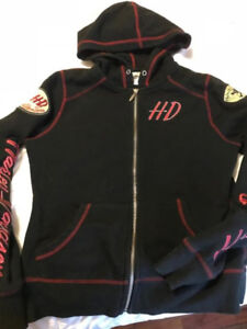 Ladies Harley Shirts and sweaters. Size M