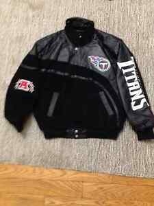 Brand New Authentic Tennesse Titans Leather Jacket
