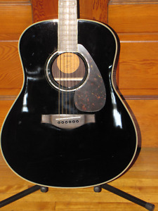 FOR SALE - NEW YAMAHA LL6 - ARE (ELECTRIC ACOUSTIC) BLACK