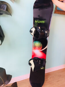 7b870e6f00fb Option Signature 157 Snowboard and Boots For Sale