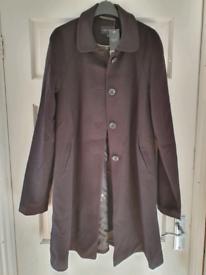 Next long black jacket size 16 Tall NEW