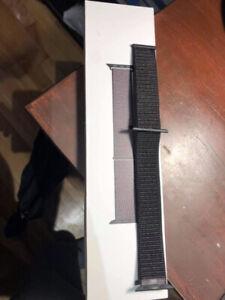 Black Sport Loop (Apple Watch 44/42 mm)