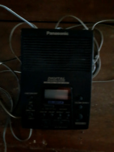 Panasonic digital answering machine