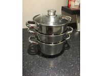 Steamer - ideal for using to cook Christmas Dinner