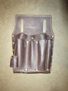 Small leather tool apron for sale.