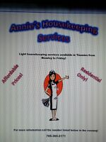 Annie's Housekeeping Services!!!!