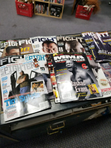2008 Vintage FIGHT, The Fighter Magazines -UFC-$8 each $60