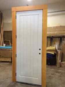 Brand New Fiberglass Exterior Door