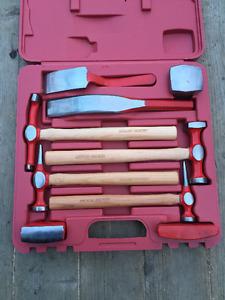 Ensemble D'outils manuel de Débosselage 9 pieces Flambant Neuf!