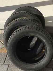 Four Hankook Studded Winter I Pike Tires