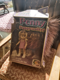Rare 1960's penny puppy Walker doll
