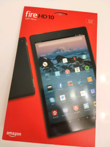 Sealed Amazon Fire HD 10, 32 Gb Black  (not Samsung Tab S S2 S3)