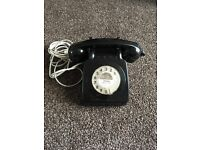 Vintage/ retro rotary dial home phone