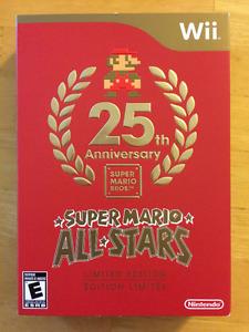 Super Mario All Stars 25th Anniversary Limited edition (Wii)