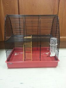 2 Story hamster cage