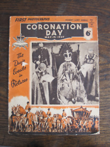 English Royal Memorabilia King George VI Coronation 1937 Weldons