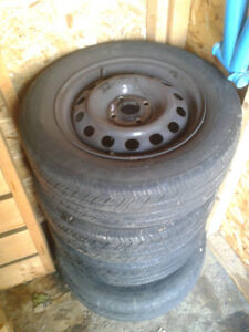 michelin tire all seaon P185 65 R14 with RIM