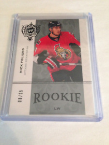 07/08 The Cup Rookie Gold Nick Foligno 8/25