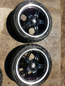 """17"""" MSR Rims and Tires"""