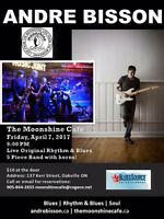 Andre Bisson Band Original Rhythm & Blues at Moonshine Cafe