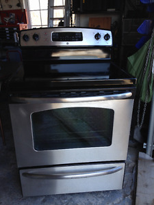"""GE Stainless Steel Stove 30"""""""