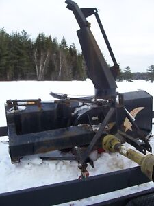 74 in. Meteor snowblower for 3 pt. hitch