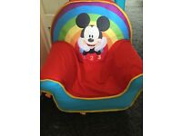 Mickey Mouse inflatable chair