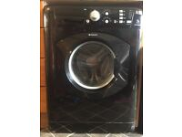 Hotpoint Aquarious 7kg black washing machine- mint condition