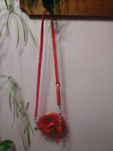 Red Flower Purse