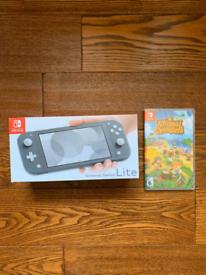 Nintendo Switch Lite with Animal Crossing New Horizons