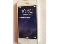 Apple iPhone 5 white unlocked 16GB (9575)