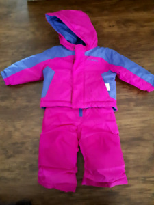 Columbia jacket & snow pants 6-12 mos and snow suits 3-6 mos